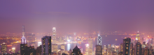 Hong Kong's skyline shows sign of change